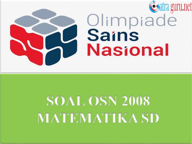 Soal OSN Matematika SD Tahun 2008