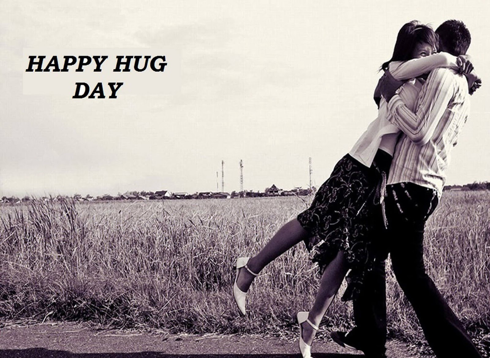 Happy Hug Day Wishes Quotes SMS for Him & Her