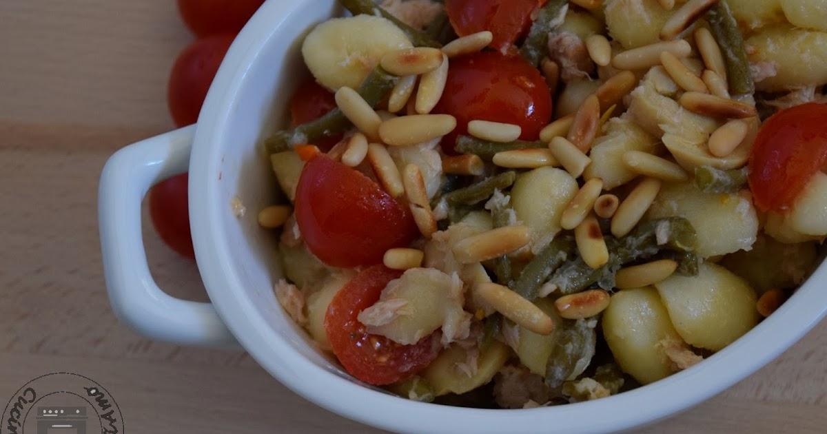 Gnocchi di patate all'insalata