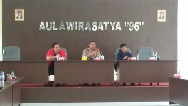 Polresta Gelar Pertemuan Dengan PWI Pagaralam