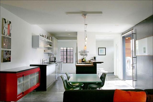 cozinha Casa com escritório containers