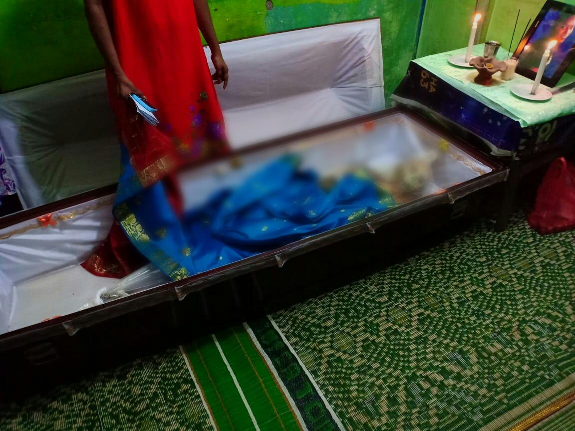 Jasad Sangrita Dewi tinggal tulang belulang