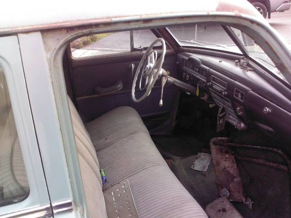 1952 Plymouth Cranbrook Interior