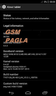 I TOUCH SK704 gsm Pagla