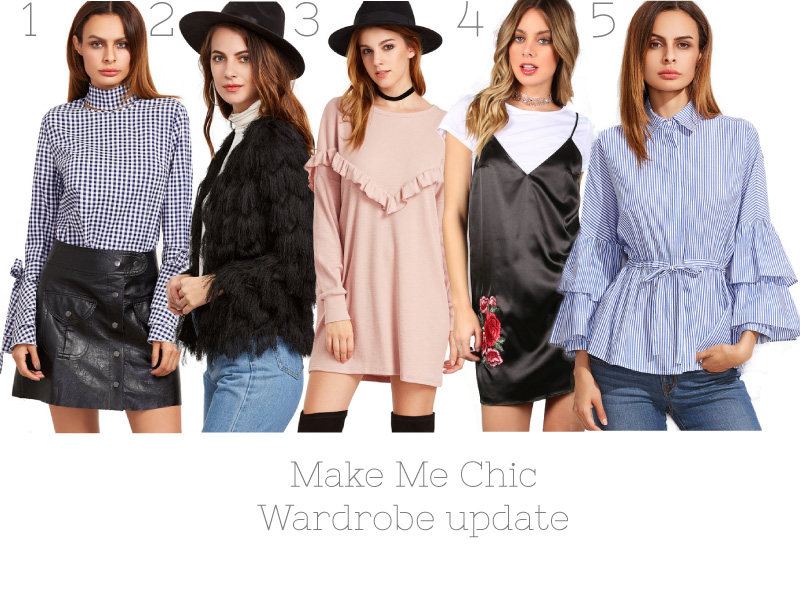 Make Me Chic, Fashion, Affordable, trend, wardrobe update
