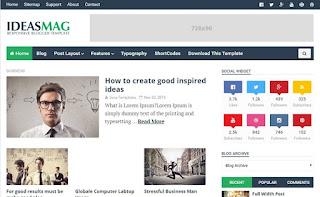 Ideas mag blogger templates
