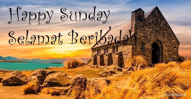Gambar Kata Hari Minggu Kristen Cikimm Com