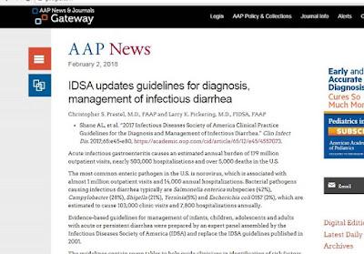 Bài viết cập nhật của IDSA trên AAP