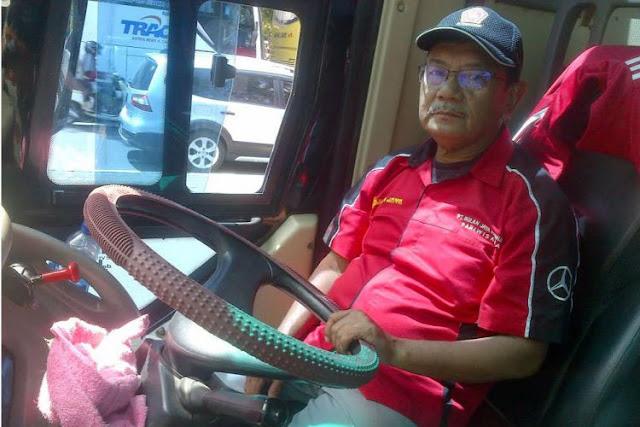 Tak Menyangka Telolet Jadi Ramai, Ini Kata Sopir Bus Senior