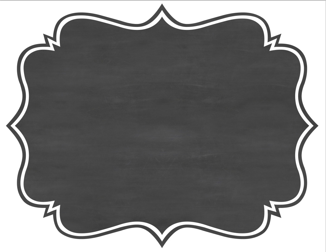 A Pinch Of Katy: Tutorial: Mock Chalkboard Frame Signs