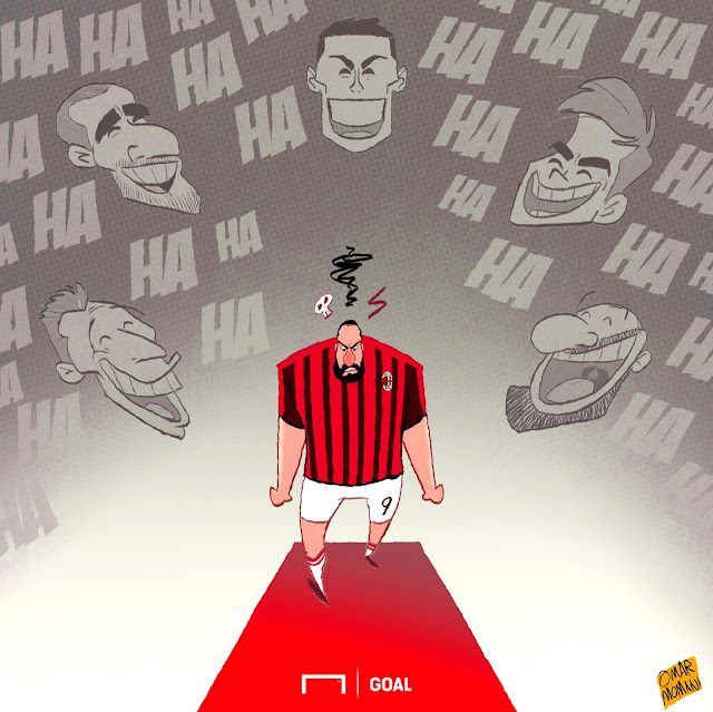Juventus players laughing