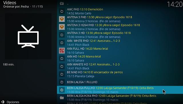 IPTV RECORDER addon grabador kodi