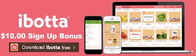 Ibotta app $10 signup bonus
