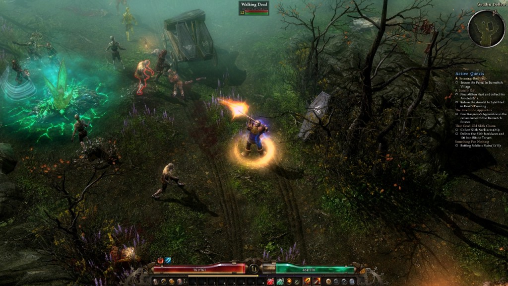 Three Second Rush: Grim Dawn Review Part I: Excellence in World