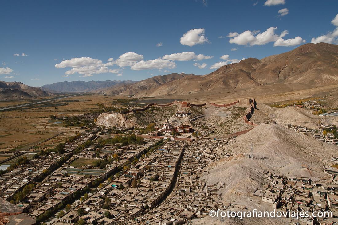 monasterio Pelkor chode en Gyantse Tibet