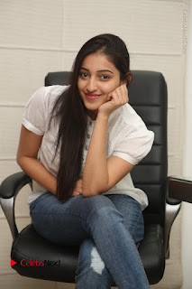 Tollywood Telugu Actress Mouryaani Latest Stills in Ripped Jeans at Intlo Deyyam Nakem Bhayam Movie Interview  0054.JPG