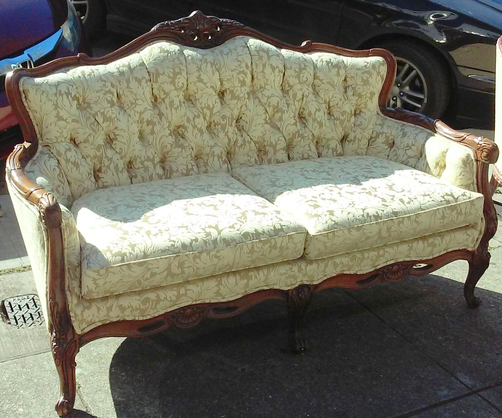 craftsmen furniture. SOLD**REDUCED** Tailored By Craftsmen French Style Sofa - $195 Furniture T