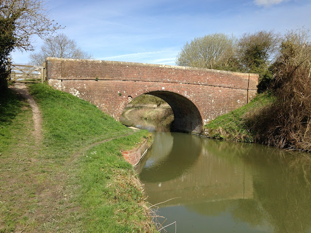 Bridge over the Kennet and Avon Canal, near Burbage