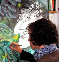 Annapia Sogliani quadri onirici surrealisti tableaux oniriques surrealistes