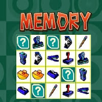 Online Memory Game of Matching Pairs