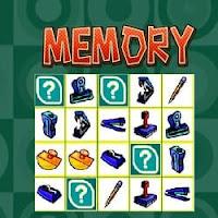 Online Memory Game of Matching Pairs