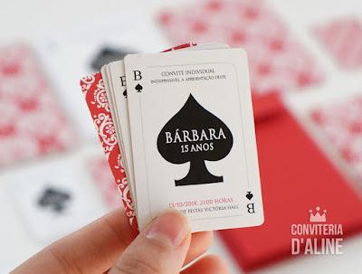 convite carta las vegas casino