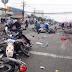 #VIDEO ~ Puluhan penunggang motosikal dirempuh lori ketika berhenti tunggu lampu isyarat
