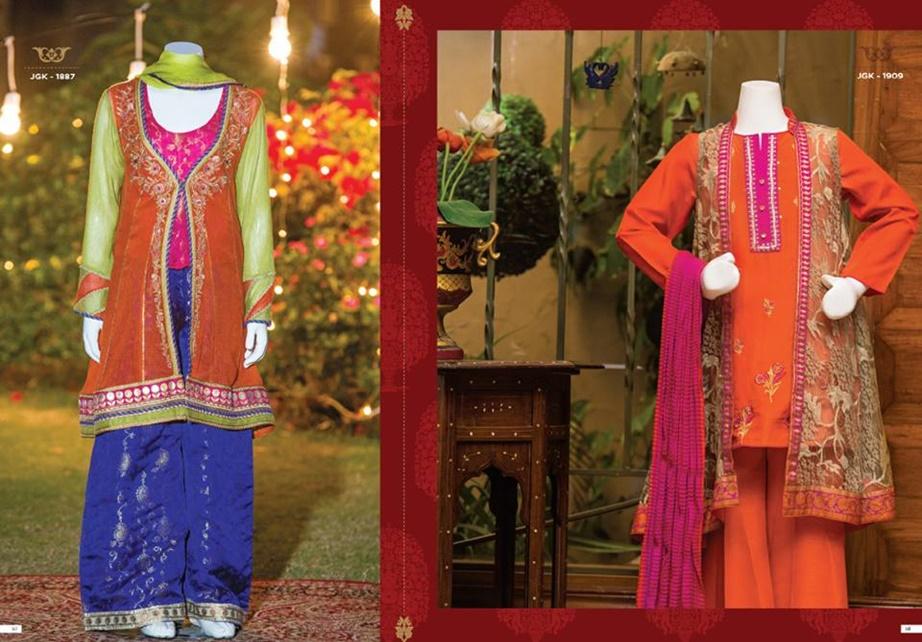 Junaid Jamshed chiffon Collection 2017 Junaid Jamshed chiffon eid Collection 2017