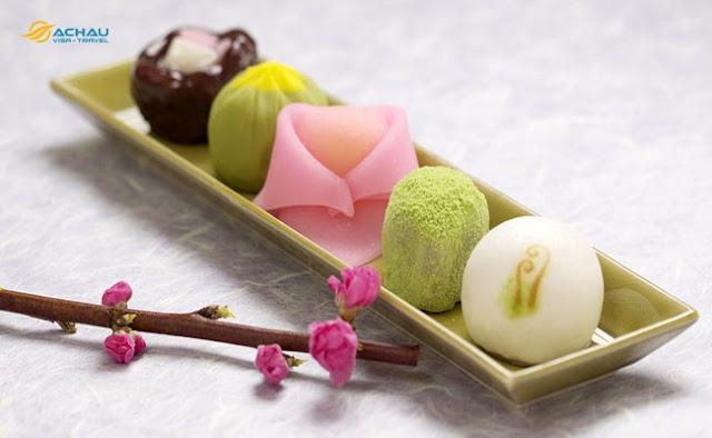 Ẩm thực với hương vị hoa anh đào đẹp mắt tại Nhật Bản