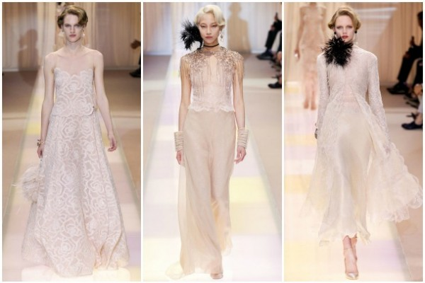 ... Style Filled With Sheer, Feathers And Embroidered Crystals Fit For A  Turn Of The Century Socialite. The Diaphanous Gowns Are At Once Sensual Yet  Pretty; ...