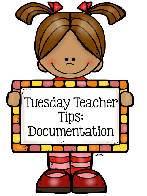 Fern Smith's Classroom Ideas - Tuesday Teacher Tips: Documentation