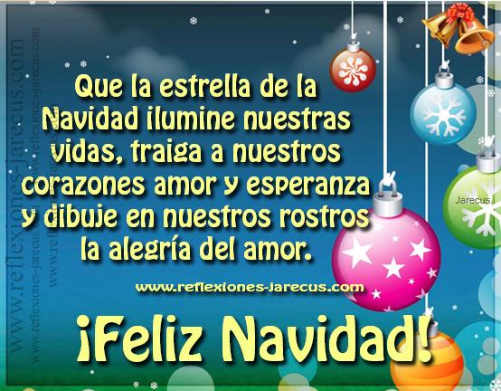 saludar en esta navidad a alguien que estimas
