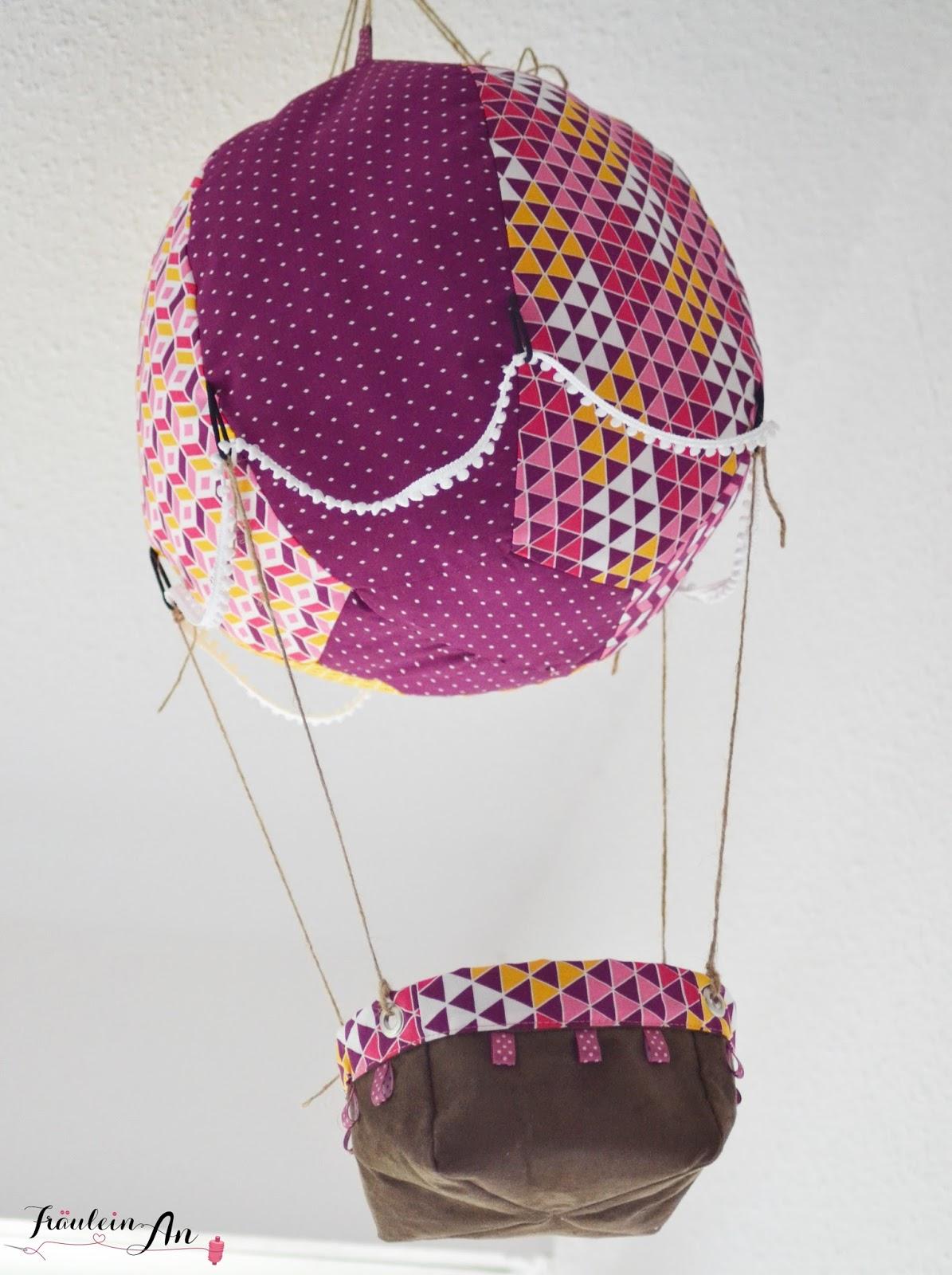 Fräulein An: Heißluftballon für\'s Kinderzimmer
