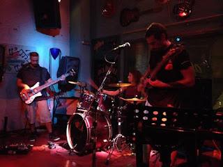 Distorted Function - greek rock live