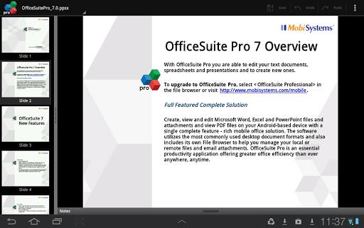 Download App OfficeSuite 7 Pro (PDF&Fonts) v7.5.1952 APK ...