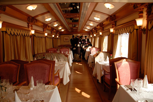 General information of Luxury train palace on wheels