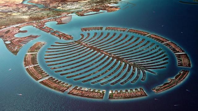 ¡Impresionantes islas artificiales de Dubai!