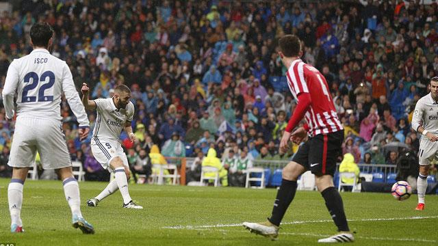 [Video] Cuplikan Gol Real Madrid 2-1 Atheltic Bilbao (Liga Spanyol)