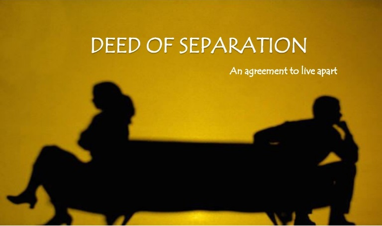 Deed of Separation In Singapore
