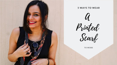 leopard print scarf, how to wear accessories, polka dot print, zara scarf, how to wear a printed scarf, how to wear accessories to work
