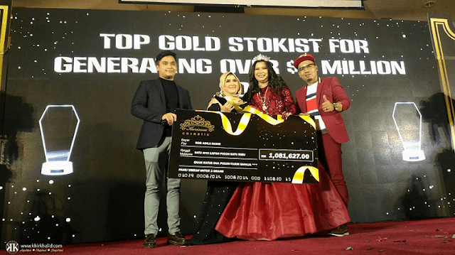 Top Gold Stokist, Karisma Cosmetic Annual Award Dinner 2018, Palace Of The Golden Horses,