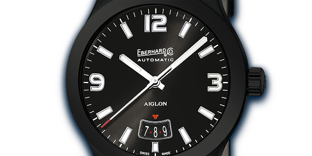 Sleek and sophisticated Aiglon Grande Taille Noir, just right for all occasions