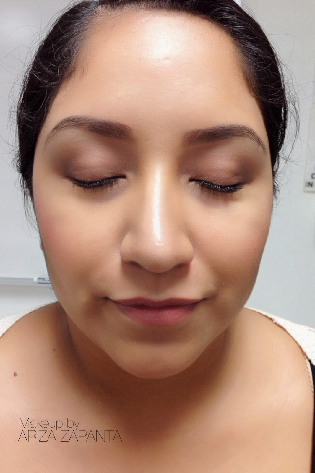 Makeup By Ariza Zapanta: Classic Full Face (school Work