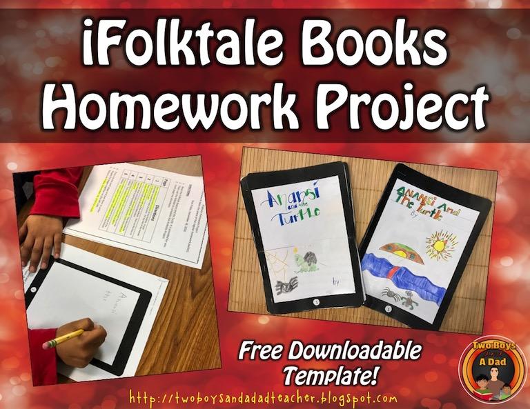 iFolktale Book Homework Project