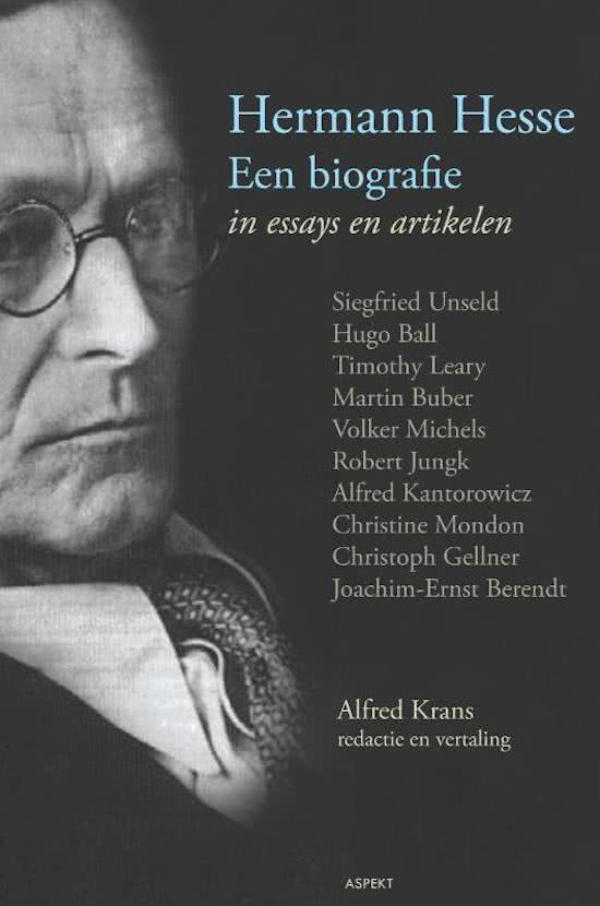 hermann hesse critical essays Tellectual or critical level hence  hermann hesse and depth psychology / 11   z oskar seidlin, hermann hesse: the exorcism of the demon,' in his essays in.