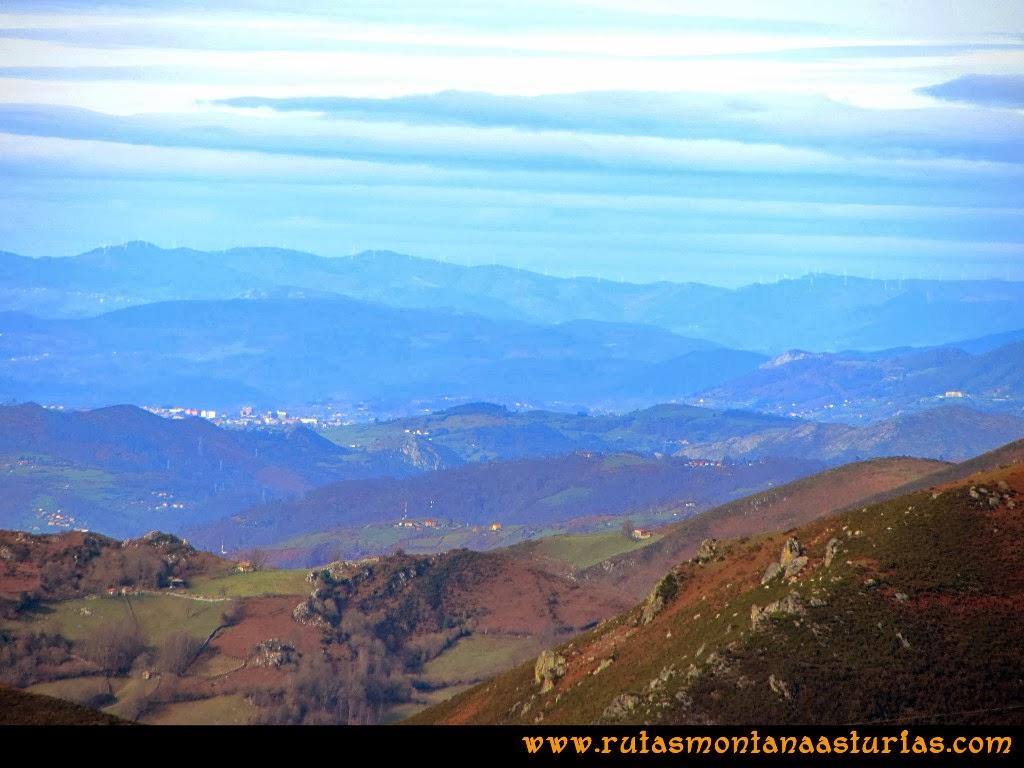 Vista de Oviedo, Asturias
