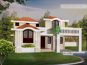 New Homes in Kerala 1900 Sq. Ft