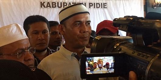 Mantan Jubir Militer GAM: Mari Bantu Jokowi Jalankan Program sampai 2024!