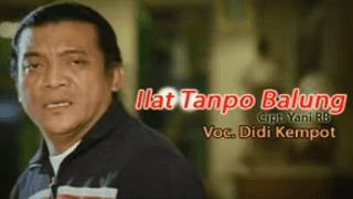 Lirik Lagu Ilat Tanpo Balung - Didi Kempot