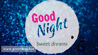 Unique good night picture messages greetings live